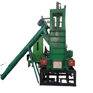Hraulic driven type China factory made waste management environmental and recycling saw dust wood sh