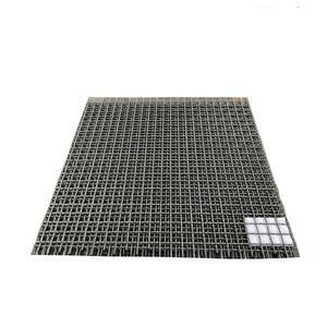 Square Opening Screen Woven wire mesh used in mining coal petroleum chemical fertilizer grain enviro