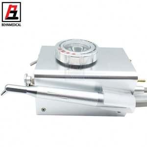dental air prophy jet polisher / Air polishing equipment metal sander gun 2 hole / 4 hole available