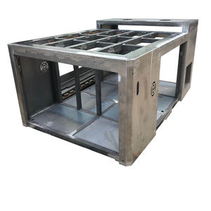 Custom Steel Frame Fabrication Services Large Heavy Duty Metal Steel Structure Welding Frame Fabrica