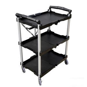 Heavy duty carts trolleys folding service cart tool box trolley