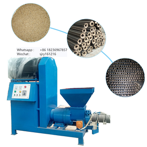 Propeller/screw Biomass Briquette Machines coconut shell charcoal briquette machine