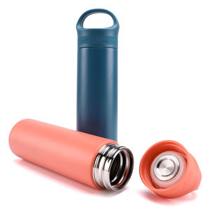 Wholesale Double Wall Insulated Stainless Steel Copper Plating Thermos Sport Water Bottle with handl