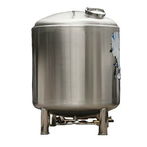 5000L Customized heat insulation materials water tank hot water storage tank stainless steel water t