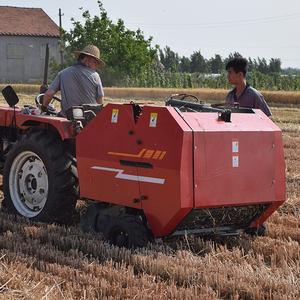 Agriculture Farm Machines Tractor Mounted Pto Mini Round Hay Straw Baler Machine Hay Round Balers