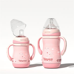 Top Quality 2021 New Design 304 Stainless Steel Baby Feeding Bottle With Warmer SUS304 Baby Feeding