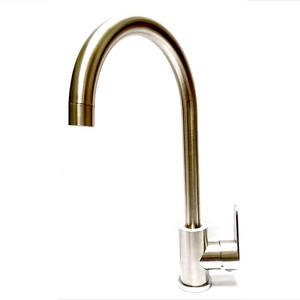 LedFre SUS304 Stainless Steel Kitchen Mixer Leadfree Materia Faucet 360 Hot and Cold Water Sink Tap