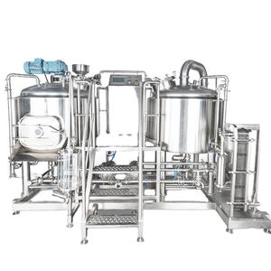 1000L 304 stainless steel brewery equipment turnkey project