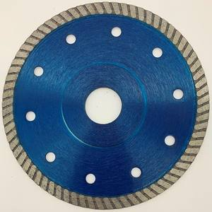 Diamond turbo saw blade for cutting tiles and ceramics TPGGVT