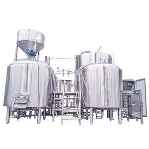 2000L Brewery Equipment Turnkey Project