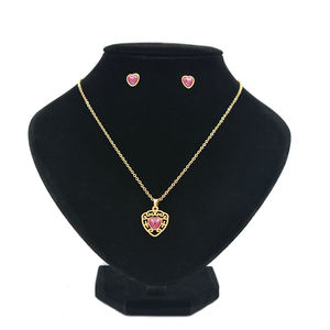 Jewelry sets 18k Gold Plated Luxury Necklace Mature Woman Jewelry Set