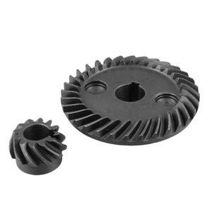 Metal 8mm Pinion Shaft Dia 10mm Shaft Dia Spiral Bevel Gear Set for Makita 9523 Angle Sander Gear Wh