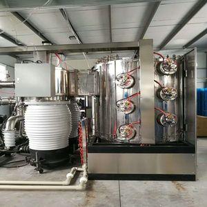 Titanium MF vacuum coating machine Tools Carbide Drill Hard Alloy PVD titanium coating machine Chrom