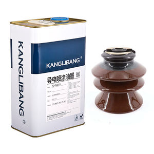 Silicone Rubber liquid Electrically Conductive graphite Paint Spray Coating carbon black powder ink