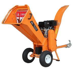15hp Gasoline Electrical Engine Wood Chipper Shredder Wood Chipper Machine Forestry Machinery