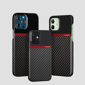 Real Carbon Fiber Phone Case For iPhone 12 Iphone 12 pro max mini case Shockproof Mobile Back Cover