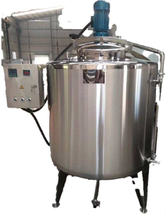 Customized 304 stainless steel mixer tank with agitator hot water storage tank