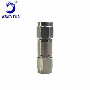 Ember Rf coaxial millimeter wave Rf adapter connector is 3.5 male to 2.92 male DC-33G VSWR1.15 SUS30