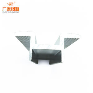 Industrial solar cell panel aluminum frame profile for solar energy system panel