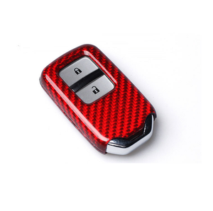 Hot selling Carbon fiber Car Key cover For Honda 2 buttons Cars Keys