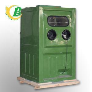 Dust-free, environmentally friendly and efficient Wet Sandblasting cabinet