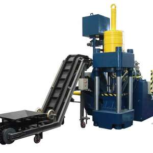 Metal Briquette Machine Hydraulic Briquette Press Scrap Aluminum Copper Steel Briquette