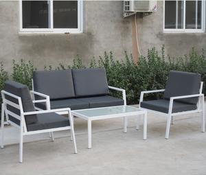Garden furniture aluminum sectional sofa,modern outdoor sofa