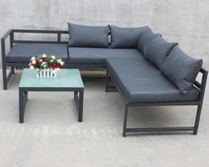 New Style Aluminum Outdoor Wicker Garden Furniture Sofa Set