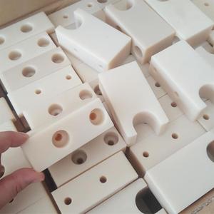 Machined or injection molded custom POM/MC nylon /HDPE/UHMWPE slide block