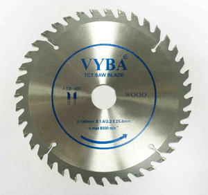 180x1.4/2.2x25.4mmx40z Power tools parts type tungsten carbide tip circular saw blade for wood
