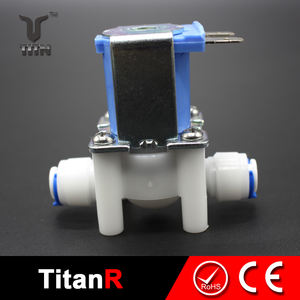 Water treatment ro quick connector plastic solenoid valve ro