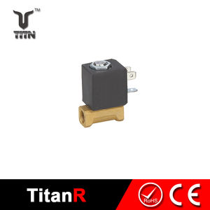 Water treatment hot water solenoid valve for coffee machine