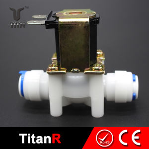 Water treatment electric solenoid valve 24v 12vdc water