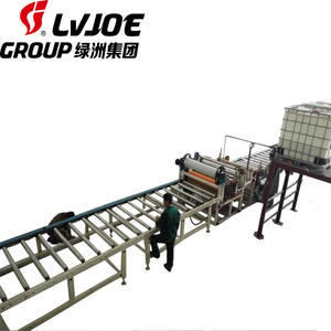 4 Million sqm PVC Laminated Gypsum Suspended Ceiling Board Tile Making Machine with Cutting, Packing
