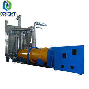 Alfalfa Grass Sugarcane Biogases Animal Dung Wastes Sawdust Rotary Drum Dryer with CE