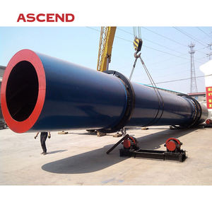 Electricity heated rotary dryer and drum dryer machine for sand, sawdust and chicken manure