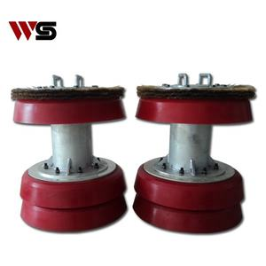 wire brush polyurethane cup Pigs for sewer drain / steel pipe cleaning