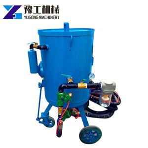 Dust-free Sandblast Cylinder Environmental Protection Blasting Cabinet