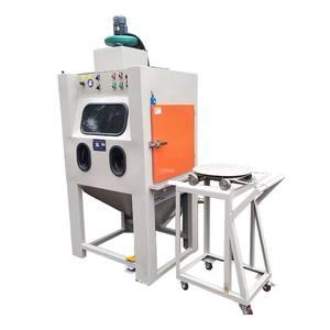 No dust environmental protection wet sandblasting machine / All stainless steel wet sand blasting ma