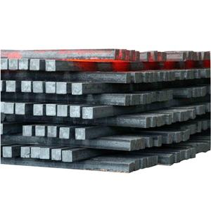 JIS Iron Mild Carbon Steel Billets Forged Square Rod Bar