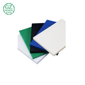 Engineering plastic sheets custom size pom 1mm delrin sheet