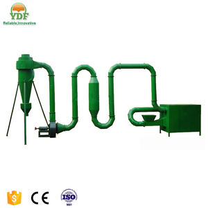sawdust airflow dryer machinery for making biomass wood pellets