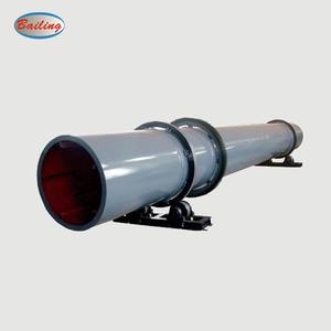 Industrial Rotary Drum Dryer Use Natural Gas, Diesel, Propane, Wood, Biomass Pellet, Coal Burning Di