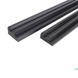 Wear resistant extruding uhmw PE500 HDPE linear guide rail chain track plastic guide plate