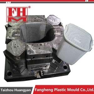 rattan basket moulds making plastic laundry basket mold maker in taizhou
