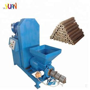 500-800kg/h 11kw rice huks straw charcoal briquette extruder machine