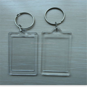 Digital Photo Keychain Type and PlasticExcellent acrylic/general plastic Material photo key holder