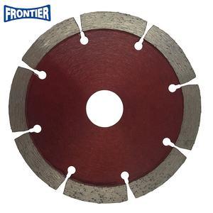 115*2.0/1.4*10*8T*22.23mm Hot Press segmented dry cutting diamond saw blade for general purpose