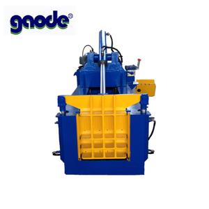 hydraulic scrap metal baler for aluminum cans scrap cars with CE