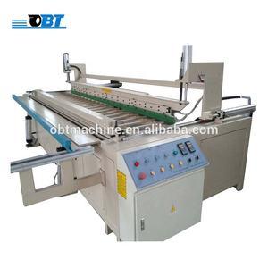 Automatic HDPE plastic sheet bending machine
